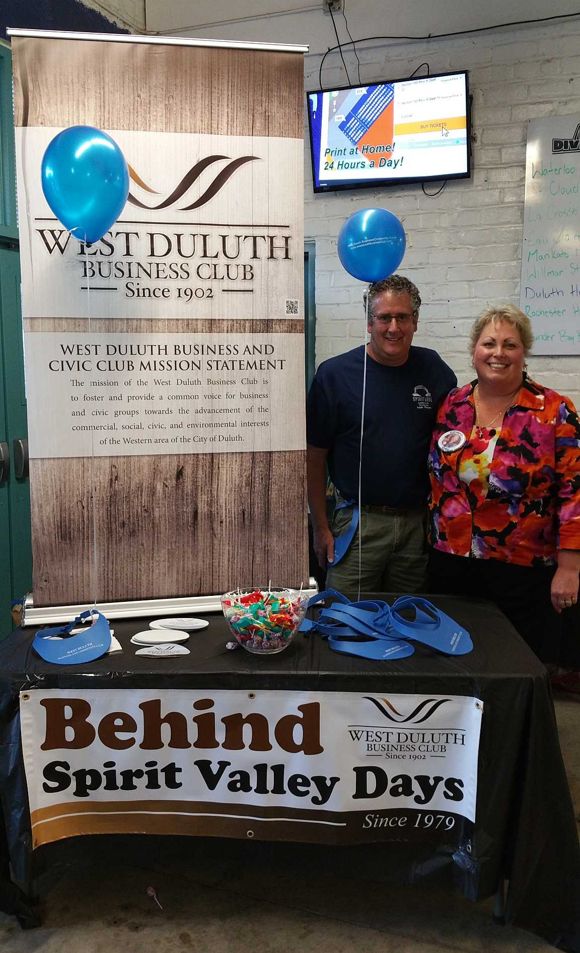 WDBC at Duluth Huskies Game